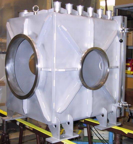 Rectangle UHV Vacuum Chamber