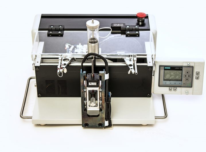 ws 25 high precision wire saw with electronic sample support. Black Bedroom Furniture Sets. Home Design Ideas