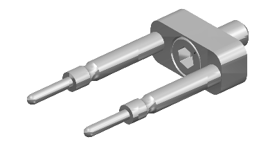 Straight Fork for Block Style Holders