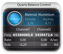 Quartz Balance Control Application