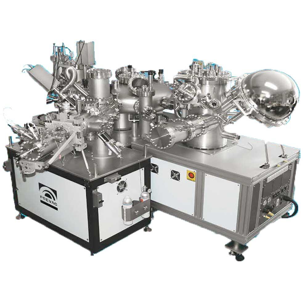 Electron Spectroscopy UHV Multi-chamber System
